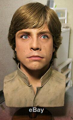 1/1 Lifesize CUSTOM Luke Skywalker Bespin bust ESB Jedi Star Wars prop IN STOCK