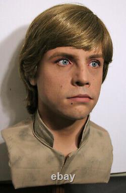 1/1 Lifesize CUSTOM Luke Skywalker Bespin bust Star Wars ESB prop IN STOCK