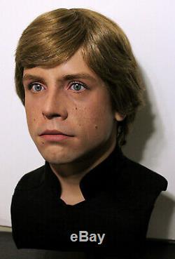 1/1 Lifesize CUSTOM Luke Skywalker bust ROTJ Jedi Star Wars prop IN STOCK