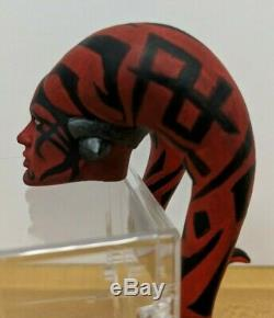 1/6 CUSTOM Star Wars Darth Talon Head sculpt Hottoys OOAK 040819DBR