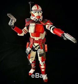 1/6 Custom ARC Trooper Phase 2 Imperial Shock Star Wars Clone Wars Sideshow