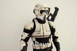 1/6 Custom Scout Trooper Star Wars Hot Toys Road Block Body Dwayne Johnson