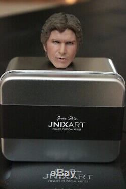 1/6 Jnix Custom Head Sculpt Han Solo Star Wars A New Hope for Hot Toys