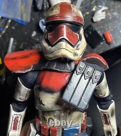 1/6 Scale CUSTOM Flame Trooper Stormtrooper Hot Toys Parts Star Wars Mandalorian