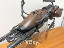 1/6 Star Wars Biker Scout Speeder Bike Custom Painted. No Sideshow Hot Toys