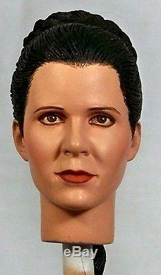 16 Custom Head of Carrie Fisher as Leia in Star Wars A New Hope Ceremony Scene