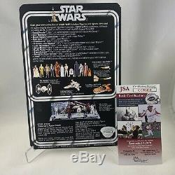 1977 STAR WARS CHEWBACCA Figure MOC Custom AUTOGRAPHED by PETER MAYHEW JSA Cert
