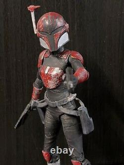 2 Combo Female Maul Mandalorian Star Wars The Black Series Custom