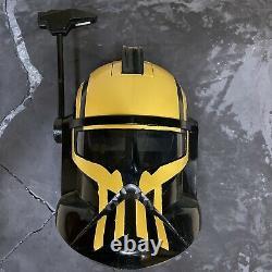 2008 Star Wars Clone Trooper Captain Rex Voice Changer Helmet Custom Umbra BF2