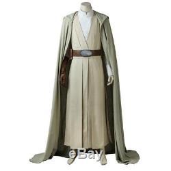 2017 Star Wars 8 The Last Jedi Luke Skywalker Costume Cosplay Halloween Outfit
