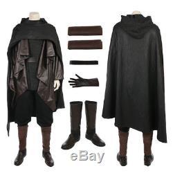 2017 Star Wars Episode The Last Jedi Luke Skywalker Cosplay Costume Custom Made