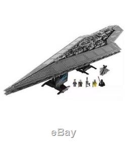 3208pcs BRAND New Custom Star Wars UCS Super Star Destroyer 10221 + Instruction