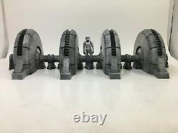 4 Huge Custom Star Wars Shield Power Generators Hoth 3.75 Inch Figure Diorama