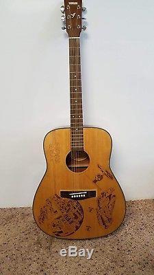 Acoustic Guitar Custom Star Wars Burn Marks