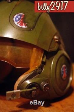 Aliens colonial marines drop ship helmet custom paint star wars uscm
