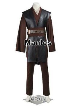 Anakin Skywalker Cosplay Star Wars Episode II Jedi Knight Costume Christmas Suit