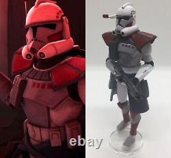 Arc Trooper Commander Hammer Custom Figure Star Wars The Clone Wars TCW