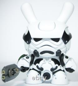 ArtMyMind Dunny Kidrobot Custom Storm Samurai Imperial Squad not Star Wars