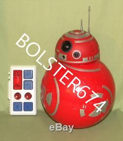 BB RED CUSTOM RC REMOTE CONTROL Star Wars Galaxy Edge Build-A-Droid Depot Disney