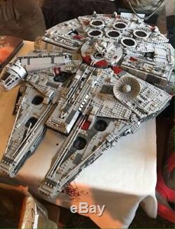 BRAND New Custom Sealed Star Wars Huge Millennium Falcon 75192 +Instruction