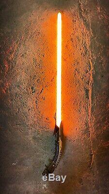 Bane MK2 Custom CFX Lightsaber Neopixel Sith Star Wars Jedi VV Saberforge