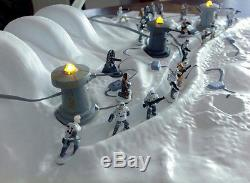 Battle of hoth Diorama big size custom Star-Wars
