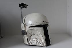 Boba Fett Prop Custom Prototype Helment 1 of a kind amazing rotj esb star wars