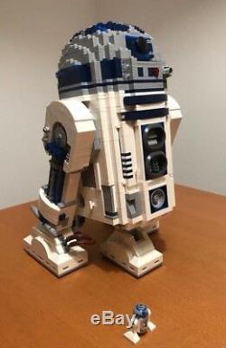 Brand New CUSTOM Star Wars 10225 UCS R2-D2 + Instruction