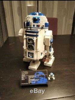 Brand New Custom Star Wars 10225 UCS R2-D2 + Instruction + Complete Set