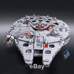 Brand New Sealed Custom LEGO COMPATIBLE Star Wars UCS Millennium Falcon WithBOX