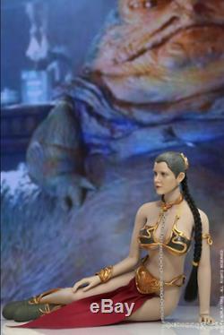 CUSTOM 1/6 SCALE Star Wars Princess Leia Organa Slave FULL FIGURE SET Skywalker