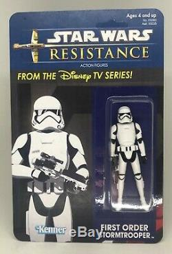 CUSTOM Carded Droids Style Star Wars Resistance Disney Action Figures Set of 10