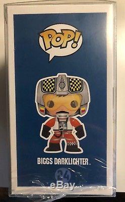 CUSTOM Funko Pop Star Wars Biggs Darklighter #24 (not-SDCC 2012) Custom