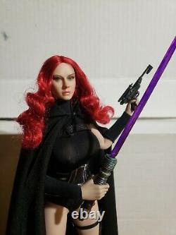 CUSTOM MADE 1/6 Scale Star Wars Mara Jade Figure Hot Toys Sideshow TBLeague