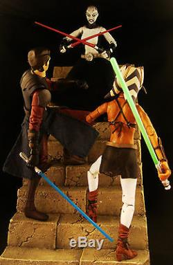 Custom Marvel Legends First Order Star Wars Black Series Asajj Ventress Sith 6
