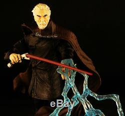 Custom Marvel Legends First Order Star Wars Black Series Count Dooku Sith Lord 6