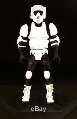 Custom Marvel Legends First Order Star Wars Black Series Imperial Biker Scout 6
