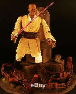 Custom Marvel Legends VII First Order Star Wars Black Series Mace Windu Jedi 6