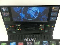 CUSTOM MISSILE CONTROL DIORAMA for 3.75 INCH FIGURES GI JOE ARAH STAR WARS