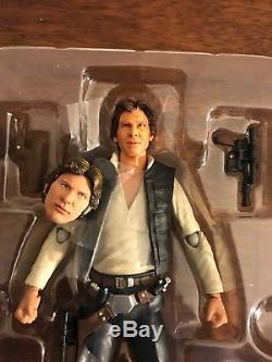 CUSTOM SH Figuarts SHF Star Wars Han Solo Figure Casting Cave Head Black Series