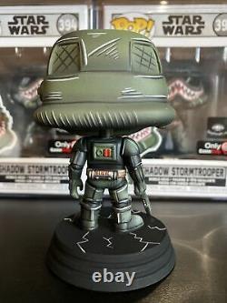 CUSTOM Star Wars FUNKO POP! #394 Urban Shadow Storm Trooper EXCLUSIVE LE