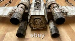 CUSTOM Star Wars Giant X-Wing Fighter Ship Prop R2D2 Large 29 Used