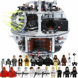 CUSTOM UK LEGO Death Star Star Wars Spacecraft Building Blocks 10188 UK SELLER