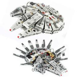 CUSTOM UK LEGO Run Millennium Falcon Star Wars Spacecraft Building Blocks 75105