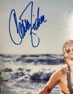 Carrie Fisher Princess Leia Star Wars Photo Awesome Custom Framed Beckett COA