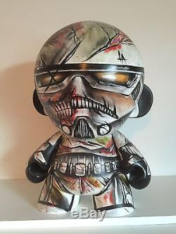 Collectible Custom 20 Munny from Kidrobot Star Wars Stormtrooper (1-of-a-Kind)
