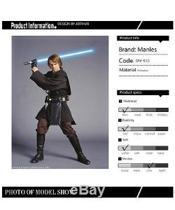 Cool Star Wars Anakin Skywalker Cosplay Costume Jedi Knight Halloween Outfit