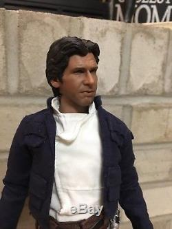 Custom 1/6 Bespin Han Solo Sideshow Hot Toys parts Ford sculpt Star Wars ESB