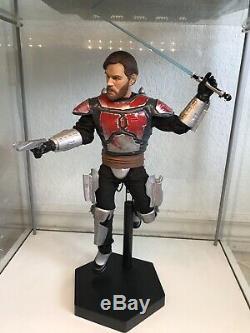 Custom 1/6 Scale Star Wars Obi Wan Mandalorian Armor From Clone Wars 16 Figure