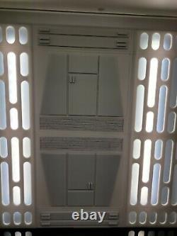 Custom 1/6 scale Death Star Corridor Diorama for Hot Toys. Fits in Detolf